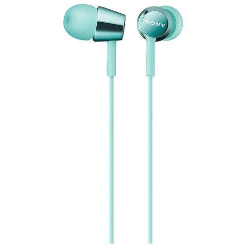 цена на Наушники Sony MDR-EX155 голубой