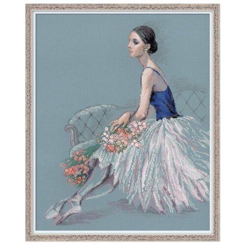 Купить Риолис Набор для вышивания Premium Балерина 40 х 50 см (100/054), Наборы для вышивания