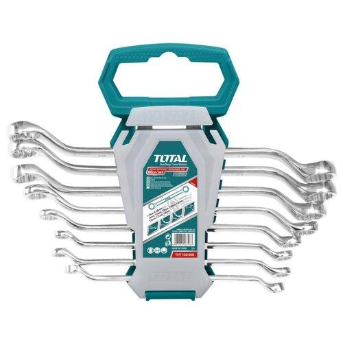 Набор гаечных ключей Total (8 предм.) THT102486 набор комбинированных гаечных ключей в держателе 8 шт fit 63416 8 19 мм