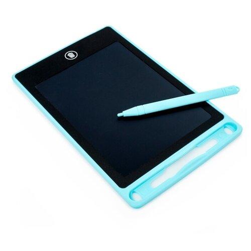 Купить Планшет детский Zabiaka для рисования с трафаретами (4420899) голубой, Доски и мольберты