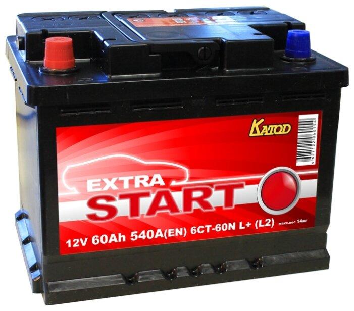 Аккумулятор Extra Start 6СТ-60N L+ (L2)
