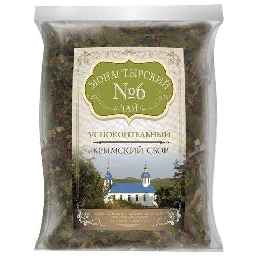 Фото - Чай травяной Крымский чай Монастырский № 6 Успокоительный, 100 г чай травяной aroma монастырский 100 г