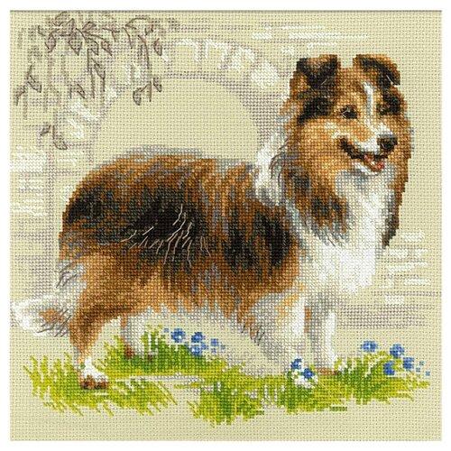 Купить Риолис Набор для вышивания Шелти 25 x 25 см (1710), Наборы для вышивания