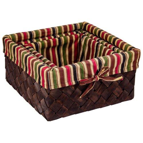 Русские подарки Набор плетеных корзинок 80349 коричневый