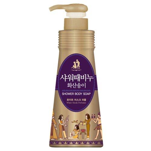 Жидкое мыло для тела Mukunghwa Ароматерапия Белый мускус, 900 мл