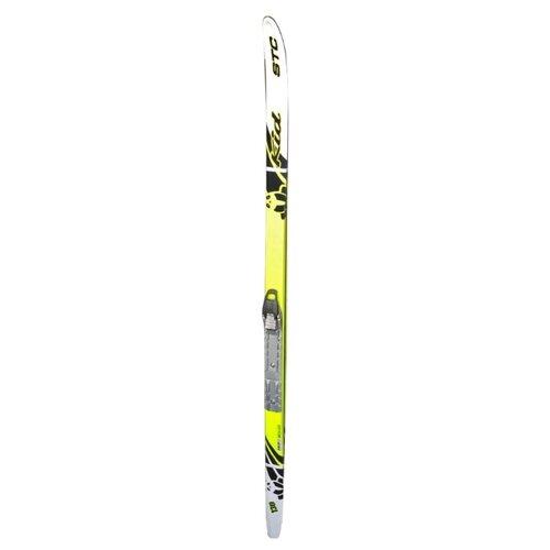 Фото - Беговые лыжи STC SNN Sted Kid желтый 120 см dg 348 snn