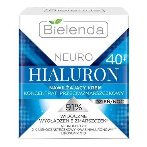 Крем Bielenda Neuro Hialuron увлажняющий 40+ 50 млАнтивозрастная косметика<br>