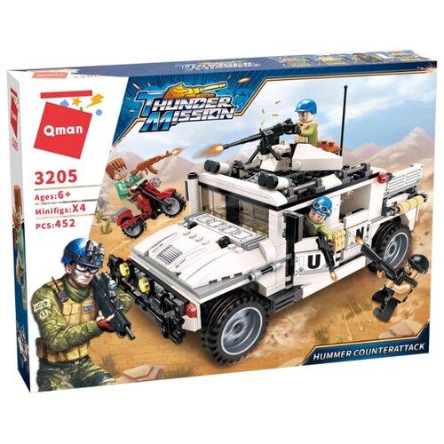 Купить Конструктор Qman Thunder Mission 3205 Внедорожник, Конструкторы