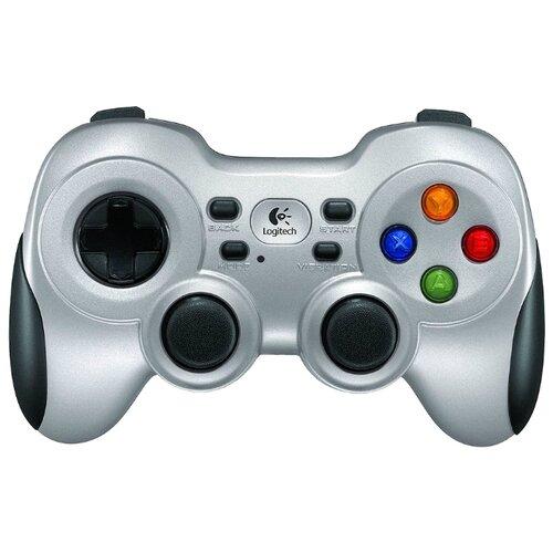 Геймпад Logitech Wireless Gamepad F710 черный/серебристый геймпад проводной logitech f310 черный [940 000135]