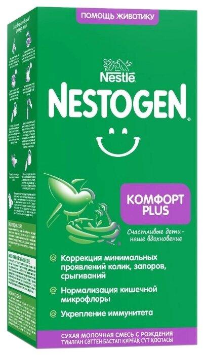 Купить Смесь Nestogen (Nestlé) 1 Комфорт Plus, с рождения, 350 г по низкой цене с доставкой из Яндекс.Маркета