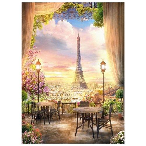 Купить Paintboy Картина по номерам Окно в Париж 40х50 см (GX22529), Картины по номерам и контурам