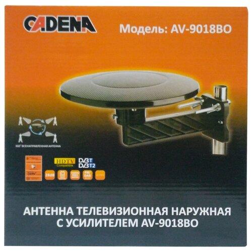 Уличная DVB-T2 антенна Cadena AV-9018BO уличная dvb t2 антенна selenga 131f