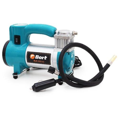 Автомобильный компрессор Bort BLK-252-Lt серый/синий
