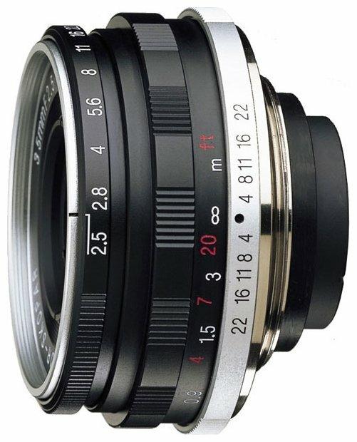 Объектив Voigtlaender 35mm f/ 2.5 Color Skopar Pancake II Leica M