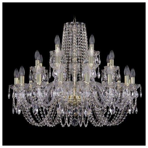 Люстра Bohemia Ivele Crystal 1402 1402/16+8+4/300/G, 1120 Вт bohemia ivele crystal 1402 1402 16 400 g 640 вт