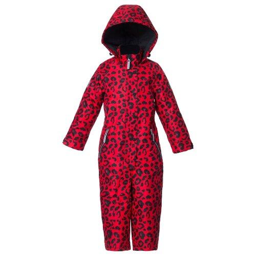 Купить Комбинезон Stylish Amadeo размер 92, красный леопард, Теплые комбинезоны