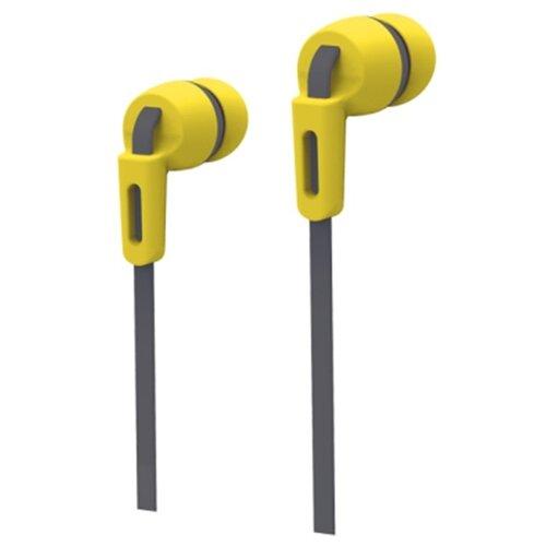 Наушники SmartBuy Mob желтыйНаушники и Bluetooth-гарнитуры<br>