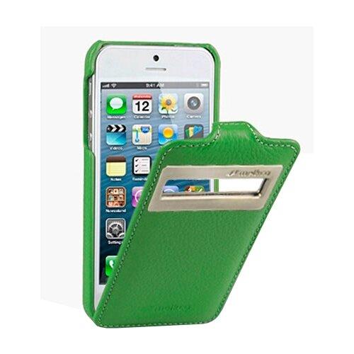 Флип-чехол Melkco Jacka ID Type для Apple iPhone 5/iPhone 5S/iPhone SE зеленый флип чехол melkco jacka type для apple iphone 7 iphone 8 темно синий