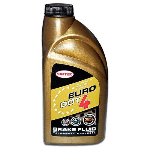 Тормозная жидкость SINTEC Euro Dot 4 (800772) 0.46 л