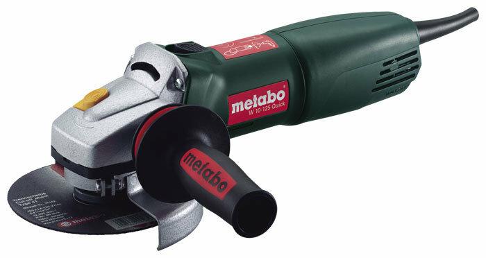 УШМ Metabo W 10-125 Quick, 1010 Вт, 125 мм