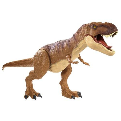 Купить Фигурка Mattel Jurassic World Колоссальный динозавр Рекс FMM63, Игровые наборы и фигурки