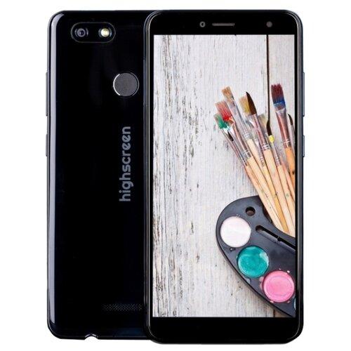 Смартфон Highscreen Expanse графитовый черныйМобильные телефоны<br>