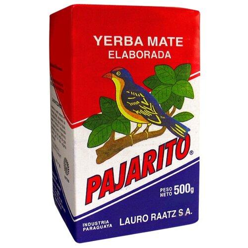 Чай травяной Pajarito Yerba mate Tradicional, 500 г чай мате yerba mate playadito листовой 1000 г