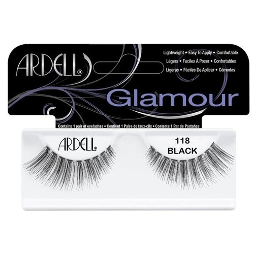 Ardell накладные ресницы Glamour Fashion Lash 118 blackРесницы и клей<br>