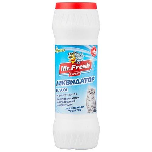 Порошок Mr. Fresh ликвидатор запаха для кошачьих туалетов 500 г.