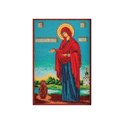 Купить Радуга бисера Набор для вышивания бисером Богородица Геронтисса 18 x 27 см (В-196), Наборы для вышивания