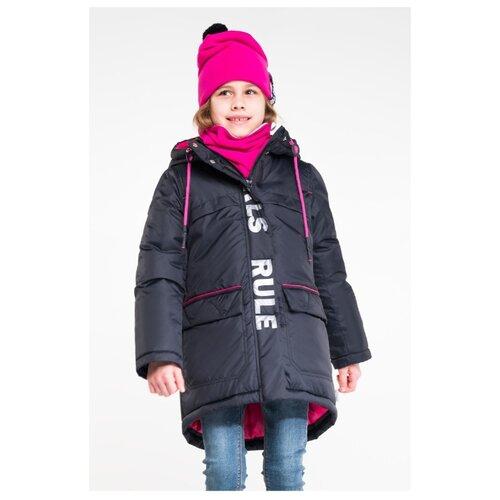 Пальто BOOM! by Orby 90701 размер 116, черный пальто boom размер 98 черный