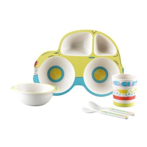 Комплект посуды Baby Ryan Авто (BF005) зеленыйПосуда<br>