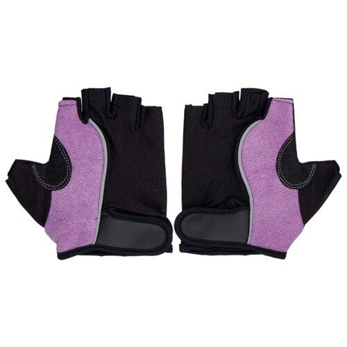 Перчатки Indigo IR 97852 черно-сиреневый M коляска 3 в 1 indigo indigo 18 special f sp 12 белая кожа