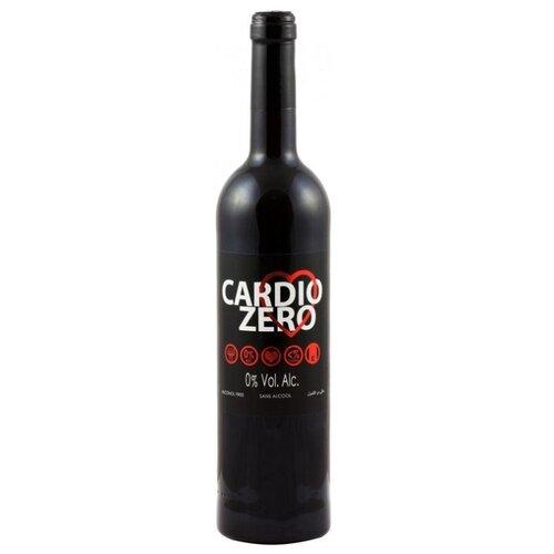 Вино безалкогольное Cardio Zero красное сухое 0.75 л