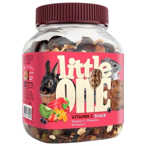Лакомство для кроликов, грызунов Little One Snack Vitamin C 180 г