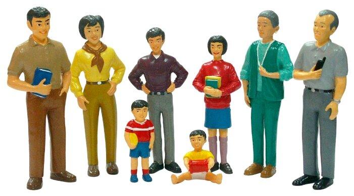 Фигурки Miniland Азиатская семья 27397