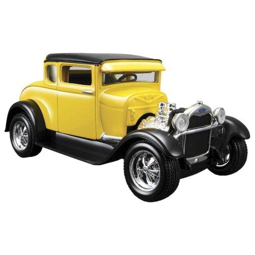 Купить Легковой автомобиль Maisto Ford Model A 1929 (31201) 1:24 желтый, Машинки и техника
