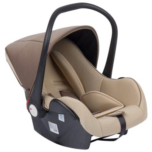 Купить Автокресло-переноска группа 0+ (до 13 кг) Lider Kids Baby Leader Comfort II, бежевый/коричневый, Автокресла