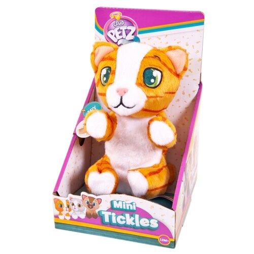 Купить Интерактивная мягкая игрушка IMC Toys Mini Tickles Котенок рыжий, Роботы и трансформеры