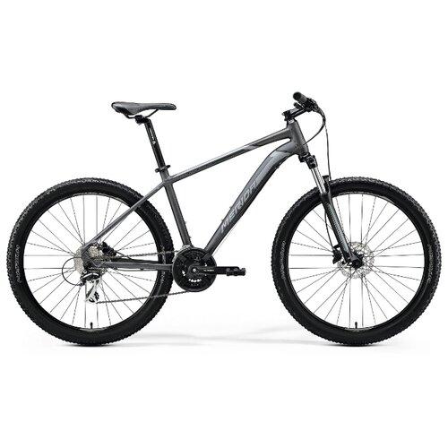 Горный (MTB) велосипед Merida Big.Seven 20-D (2020) matt anthracite/black/silver 19