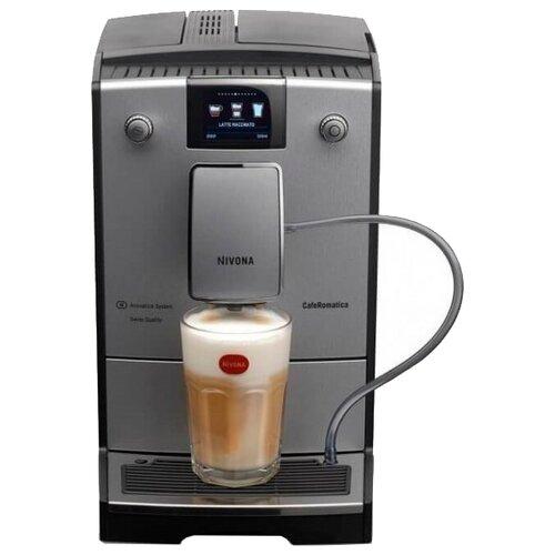 Кофемашина Nivona CafeRomatica 769 черный/серебристый