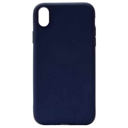 Чехол Gosso 191659W для Apple iPhone Xr темно-синий чехол для сотового телефона gosso cases для huawei p20 lite soft touch 186905 темно синий