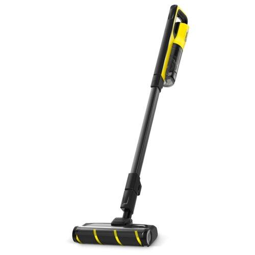 Пылесос KARCHER VC 4s Cordless Plus, черный/желтый пылесос karcher vc 4s cordless plus черный желтый