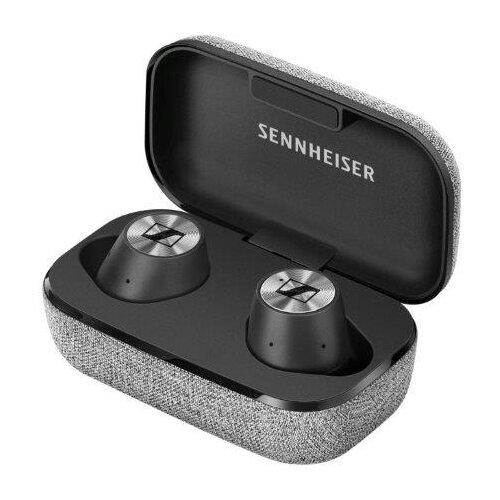 Беспроводные наушники Sennheiser Momentum True Wireless черный/серый беспроводные наушники sennheiser momentum free black