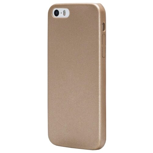 Чехол uBear Coast Case для Apple iPhone 5/iPhone 5S/iPhone SE gold чехол impress protective case orange для iphone 5 5s оранжевый