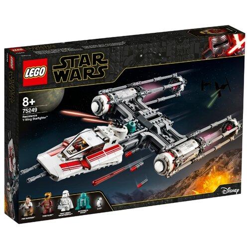 Конструктор LEGO Star Wars 75249 Звёздный истребитель Повстанцев типа Y lego star wars 75249 конструктор лего звездные войны звёздный истребитель повстанцев типа y