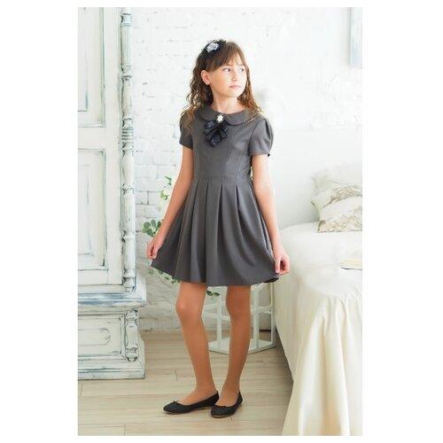 Купить Платье Ladetto 1С5 размер 30(2)-122, серый, Платья и сарафаны
