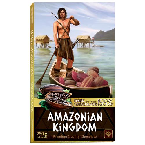 Шоколад Libertad Королевство Амазонок темный с кешью, 250 гШоколадная плитка<br>
