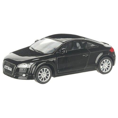 Купить Детская инерционная металлическая машинка с открывающимися дверями, модель Audi ТТ 2008, черный, Serinity Toys, Машинки и техника