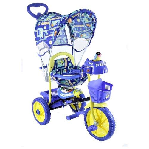 Трехколесный велосипед JAGUAR MS-0737 синий